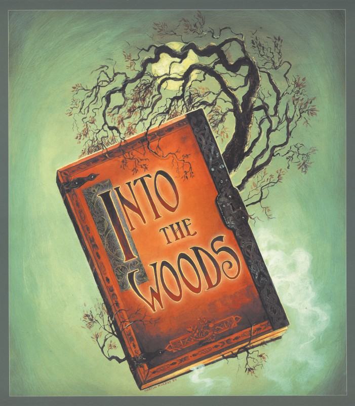 Into The Woods Production Logo